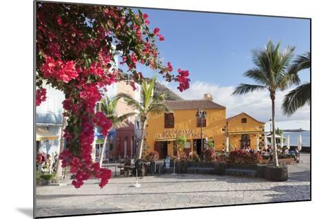 Restaurant Taberna Del Puerto, Puerto De Tazacorte, La Palma, Canary Islands, Spain, Europe-Markus Lange-Mounted Photographic Print