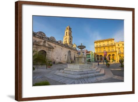 Plaza De San Francisco De Asis, La Habana Vieja (Old Havana), Havana, Cuba, West Indies, Caribbean-Alan Copson-Framed Art Print