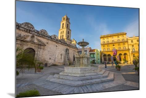 Plaza De San Francisco De Asis, La Habana Vieja (Old Havana), Havana, Cuba, West Indies, Caribbean-Alan Copson-Mounted Photographic Print