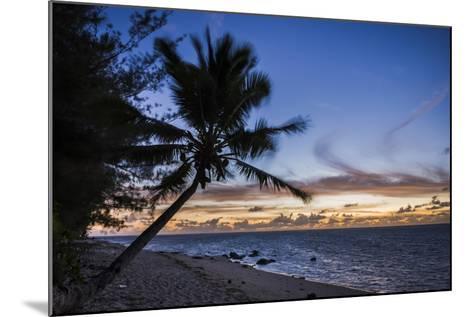 Beach Outside Rumours Luxury Villas 6 and 7, Muri, Rarotonga, Cook Islands, South Pacific, Pacific-Matthew Williams-Ellis-Mounted Photographic Print