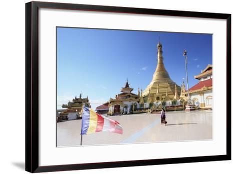 Kyaik Tan Lan Pagoda in Mawlamyine, Mon, Myanmar (Burma), Southeast Asia-Alex Robinson-Framed Art Print