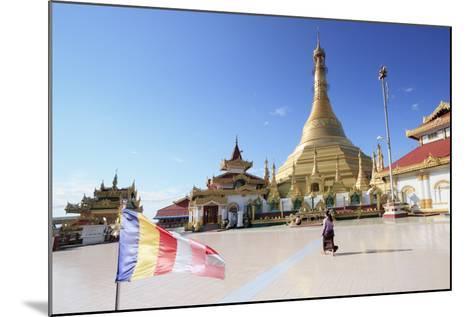 Kyaik Tan Lan Pagoda in Mawlamyine, Mon, Myanmar (Burma), Southeast Asia-Alex Robinson-Mounted Photographic Print