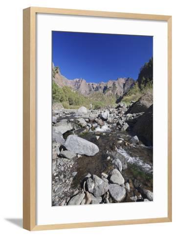 Rio Taburiente River, Parque Nacional De La Caldera De Taburiente, Canary Islands-Markus Lange-Framed Art Print