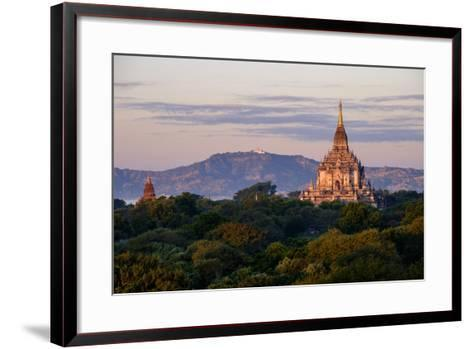 Temple of Gawdawpalin, Dated 12th Century, Bagan (Pagan), Myanmar (Burma), Asia-Nathalie Cuvelier-Framed Art Print