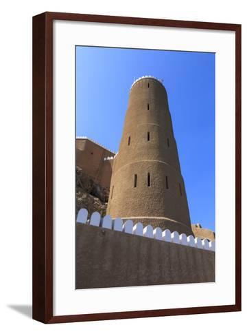 Tower of Al-Mirani Fort, Old Muscat, Oman, Middle East-Eleanor Scriven-Framed Art Print