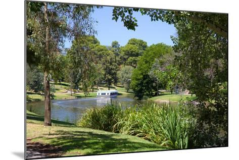 River Torrens and 'Popeye' Boat, Adelaide, South Australia, Oceania-Frank Fell-Mounted Photographic Print