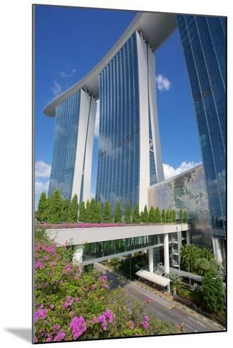 Marina Bay Sands Hotel, Singapore, Southeast Asia-Frank Fell-Mounted Photographic Print
