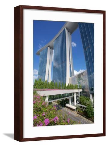 Marina Bay Sands Hotel, Singapore, Southeast Asia-Frank Fell-Framed Art Print