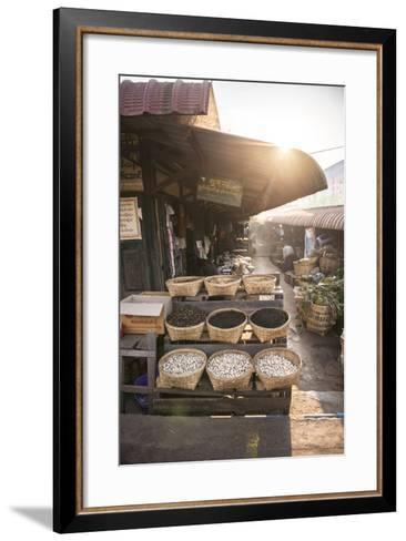 Kalaw Market at Sunrise, Shan State, Myanmar (Burma), Asia-Matthew Williams-Ellis-Framed Art Print