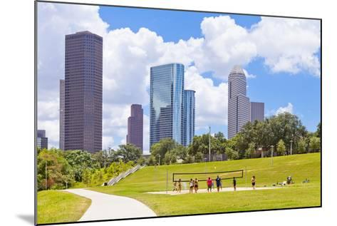 Eleanor Tinsley Park, Houston, Texas, United States of America, North America-Kav Dadfar-Mounted Photographic Print