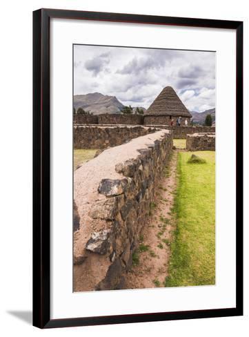 Raqchi, an Inca Archaeological Site in the Cusco Region, Peru, South America-Matthew Williams-Ellis-Framed Art Print