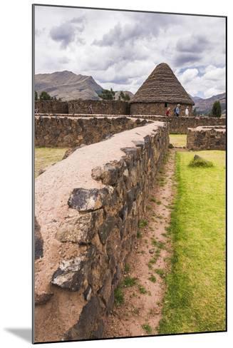 Raqchi, an Inca Archaeological Site in the Cusco Region, Peru, South America-Matthew Williams-Ellis-Mounted Photographic Print
