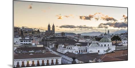 Old City of Quito, Historic Centre, Showing La Basilica Church, Ecuador, South America-Matthew Williams-Ellis-Mounted Photographic Print