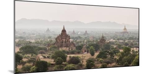 Bagan (Pagan) Buddhist Temples and Ancient City, Myanmar (Burma), Asia-Matthew Williams-Ellis-Mounted Photographic Print