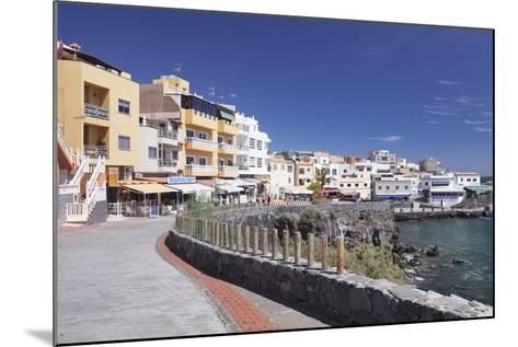 Promenade at the Port, Los Abrigos, Tenerife, Canary Islands, Spain, Atlantic, Europe-Markus Lange-Mounted Photographic Print