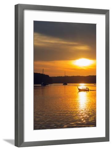 Krabi Estuary Sunrise, Krabi, Thailand, Southeast Asia, Asia-Christian Kober-Framed Art Print