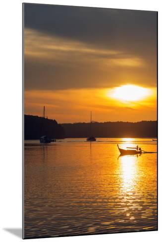 Krabi Estuary Sunrise, Krabi, Thailand, Southeast Asia, Asia-Christian Kober-Mounted Photographic Print