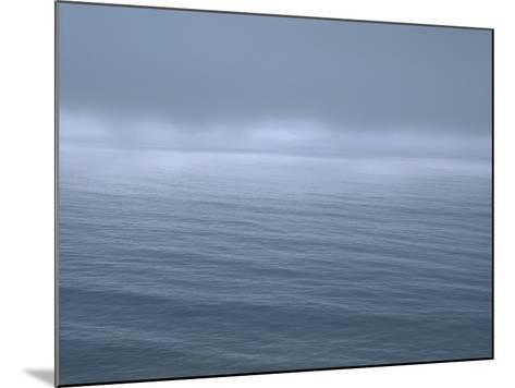 Gloomy Low Clouds over the Pacific Ocean Along the Northern California Coast--Mounted Photographic Print