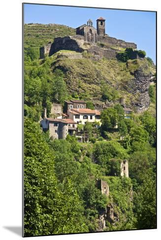 Medieval Castle Dating from the 15th Century, France-Guy Thouvenin-Mounted Photographic Print