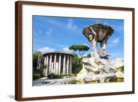 Fountain of the Tritons, Lazio-Nico Tondini-Framed Art Print