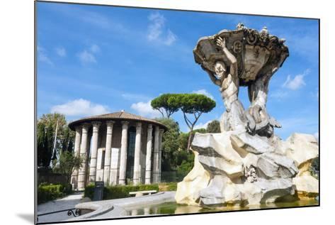 Fountain of the Tritons, Lazio-Nico Tondini-Mounted Photographic Print