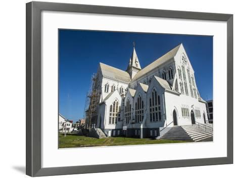 St. George's Cathedral, One of the Largest Wooden Churches in the World, Georgetown, Guyana-Michael Runkel-Framed Art Print