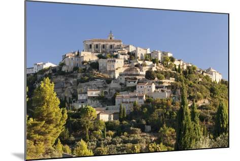 Hilltop Village of Gordes, Provence, Provence-Alpes-Cote D'Azur, Southern France, France, Europe-Markus Lange-Mounted Photographic Print