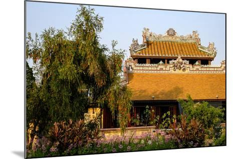 Roof Detail, Thua Thien Hue Province-Nathalie Cuvelier-Mounted Photographic Print
