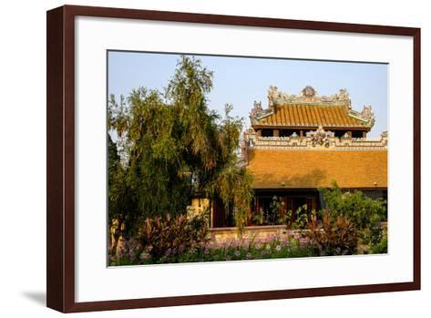 Roof Detail, Thua Thien Hue Province-Nathalie Cuvelier-Framed Art Print