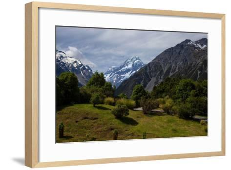 Aoraki/Mount Cook National Park, Southern Alps, Canterbury, South Island, New Zealand-Suzan Moore-Framed Art Print