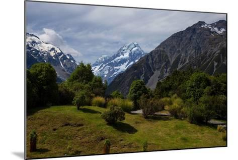 Aoraki/Mount Cook National Park, Southern Alps, Canterbury, South Island, New Zealand-Suzan Moore-Mounted Photographic Print