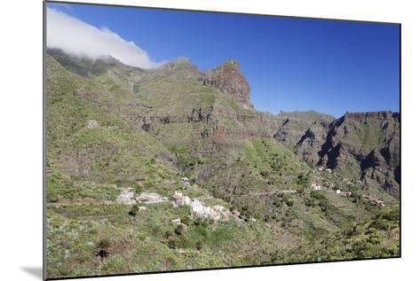 Mountain Village Masca, Teno Mountains, Tenerife, Canary Islands, Spain, Europe-Markus Lange-Mounted Photographic Print