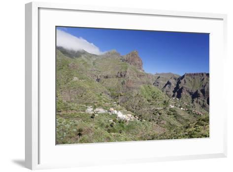 Mountain Village Masca, Teno Mountains, Tenerife, Canary Islands, Spain, Europe-Markus Lange-Framed Art Print