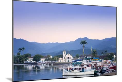 Docks at Paraty , Brazil-Alex Robinson-Mounted Photographic Print