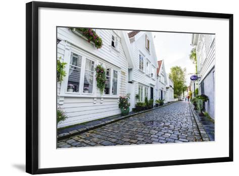 Old Stavanger (Gamle Stavanger), Rotaland-Amanda Hall-Framed Art Print