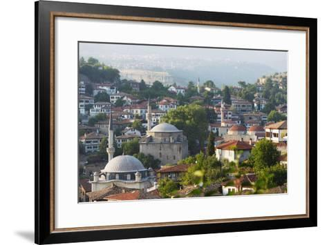 Old Ottoman Town Houses and Izzet Pasar Cami Mosque, Safranbolu, Central Anatolia, Turkey Minor-Christian Kober-Framed Art Print