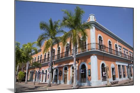 Colonial Buildings, Near Machado Square, Mazatlan, Sinoloa State, Mexico, North America-Richard Maschmeyer-Mounted Photographic Print
