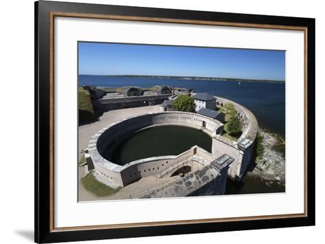 Kungsholms Fort, Karlskrona, Blekinge, South Sweden, Sweden, Scandinavia, Europe-Stuart Black-Framed Art Print