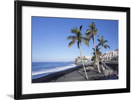 Beach of Puerto Naos, La Palma, Canary Islands, Spain, Atlantic, Europe-Markus Lange-Framed Art Print