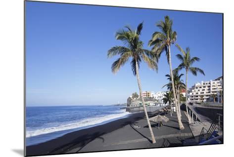 Beach of Puerto Naos, La Palma, Canary Islands, Spain, Atlantic, Europe-Markus Lange-Mounted Photographic Print