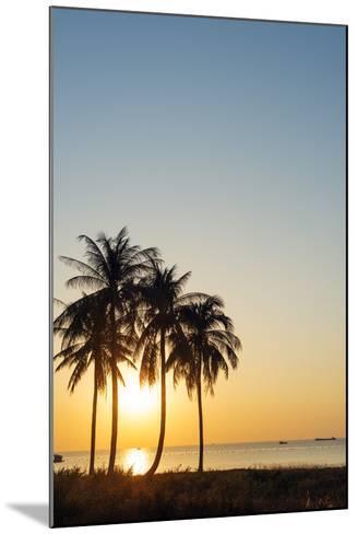 Sunset at Long Beach, Phu Quoc Island, Vietnam, Indochina, Southeast Asia, Asia-Christian Kober-Mounted Photographic Print