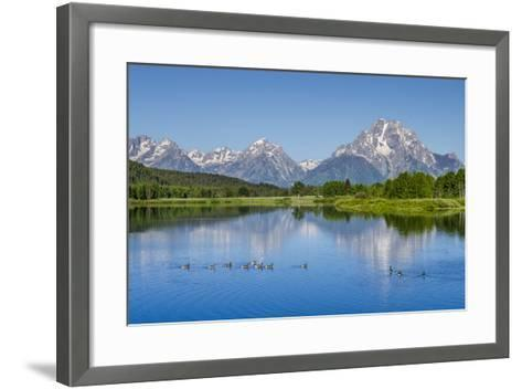 Small Lake in Grand Teton National Park, Wyoming, United States of America, North America-Michael DeFreitas-Framed Art Print