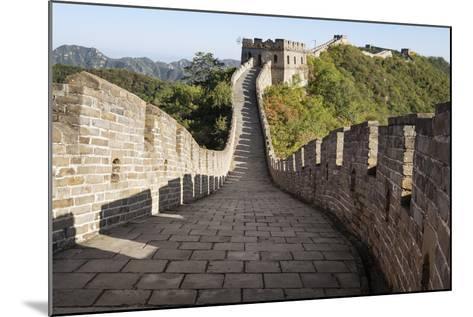 Mutianyu, Great Wall of China, UNESCO World Heritage Site, Mutianyu, China, Asia-Janette Hill-Mounted Photographic Print