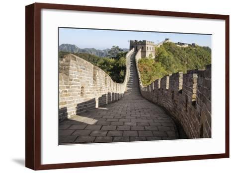 Mutianyu, Great Wall of China, UNESCO World Heritage Site, Mutianyu, China, Asia-Janette Hill-Framed Art Print