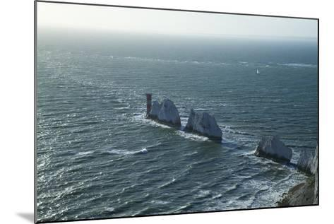 View of the Needles, Isle of Wight, England, United Kingdom, Europe-Peter Barritt-Mounted Photographic Print