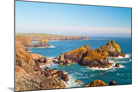 Kynance Cove, Lizard, Cornwall, England, United Kingdom, Europe-Kav Dadfar-Mounted Photographic Print