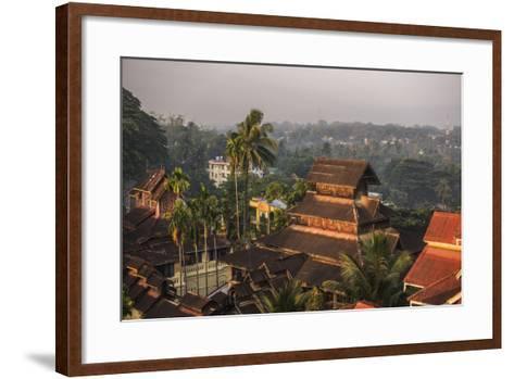 Kyaik Tan Lan Pagoda, the Hill Top Temple in Mawlamyine, Mon State, Myanmar (Burma), Asia-Matthew Williams-Ellis-Framed Art Print