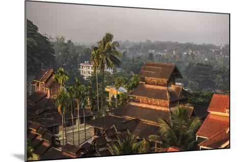 Kyaik Tan Lan Pagoda, the Hill Top Temple in Mawlamyine, Mon State, Myanmar (Burma), Asia-Matthew Williams-Ellis-Mounted Photographic Print