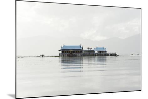 Old 20th Century British Lake Resort, Now Being Restored, Inle Lake, Shan State, Myanmar (Burma)-Annie Owen-Mounted Photographic Print