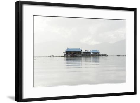 Old 20th Century British Lake Resort, Now Being Restored, Inle Lake, Shan State, Myanmar (Burma)-Annie Owen-Framed Art Print